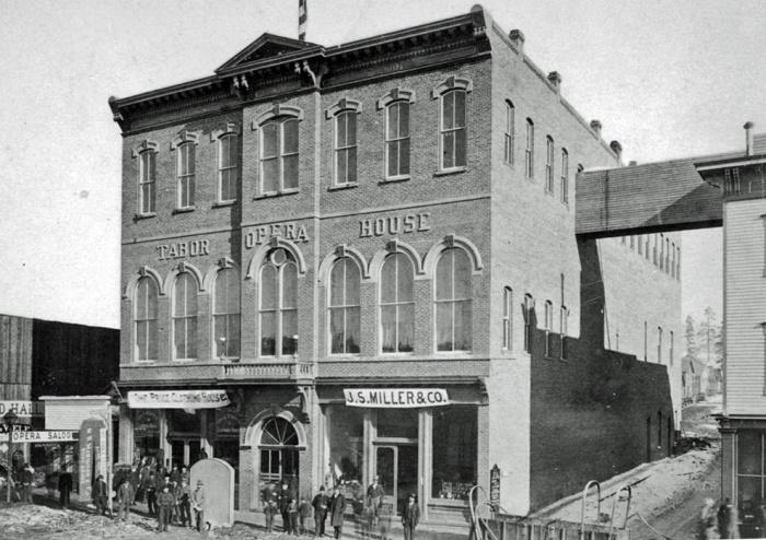 tabor opera house historic